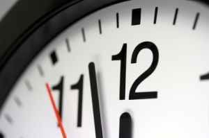 clock ticking down the minutes Daylight Saving Bill