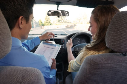 how to take h in car driving test
