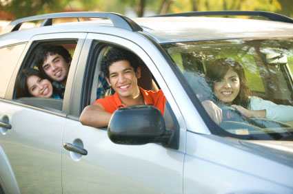 adults driving with