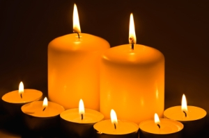 RoSPA's home safety advice includes the safe use of candles