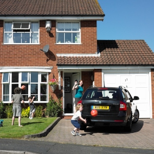 RoSPA driveway safety campaign Are there children there? Be aware!