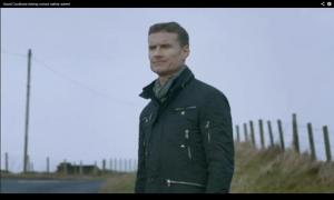 Former Formula 1 driver David Coulthard fronts the new Country Roads safety campaign.