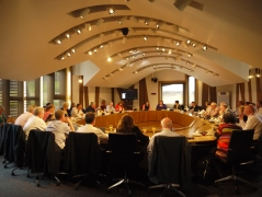 The inaugural meeting of the Cross Party Group on Accident Prevention and Safety Awareness at the Scottish Parliament