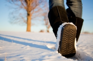 Be aware of slips, trips and falls on ice or snow this winter.