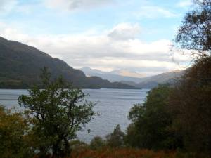 Loch Lomond - one of the many breathtaking views which Elizabeth and her son will encounter on the way.