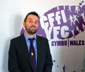 Wales YFC chairman Iwan