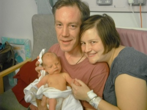 Baby Sling story Eric Matthews first days with parents Marianne and Bob Matthews